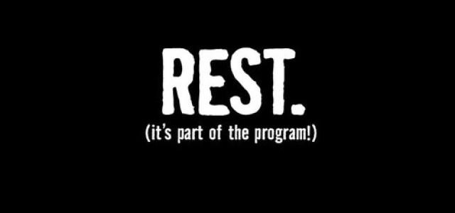 Odpoczynek i regeneracja