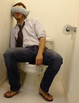 http://numbertwoguide.com/fake-crap-nap-sleeping-at-work/